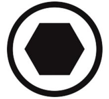 Illustration produit : symbole_hex.jpg