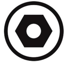 Illustration produit : symbole_hex_tamper.jpg