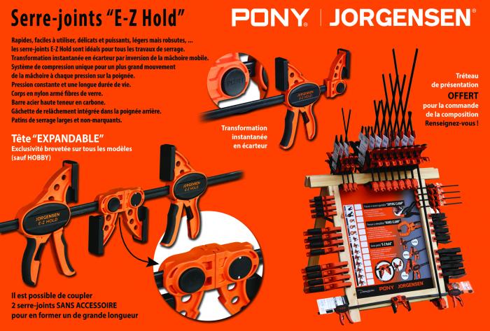 Illustration serre-joints pony-jorgensen